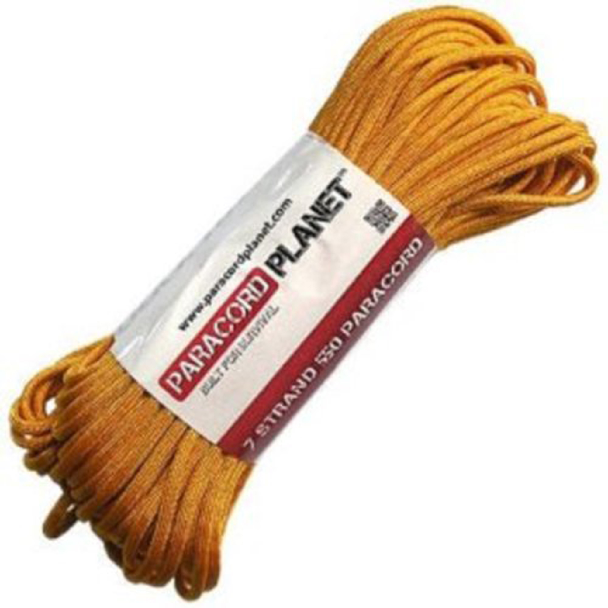 Goldenrod 100Ft 550lb Type III Paracord Survival Rope by Adventure 5