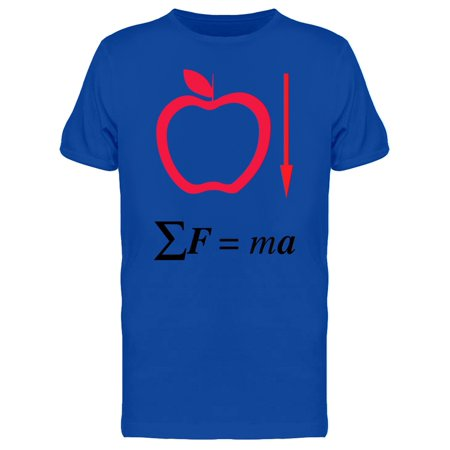 Apple's Isaac Newton Tee Men's -Image by Shutterstock (Newton Isaac S)