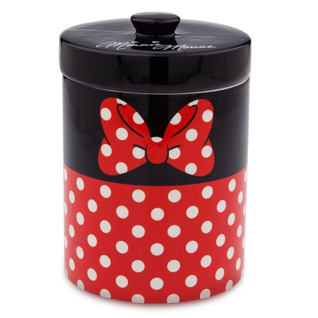 Game Day Ceramic Cookie Jar - disney parks signature minnie mouse kitchen canister cookie jar ceramic new