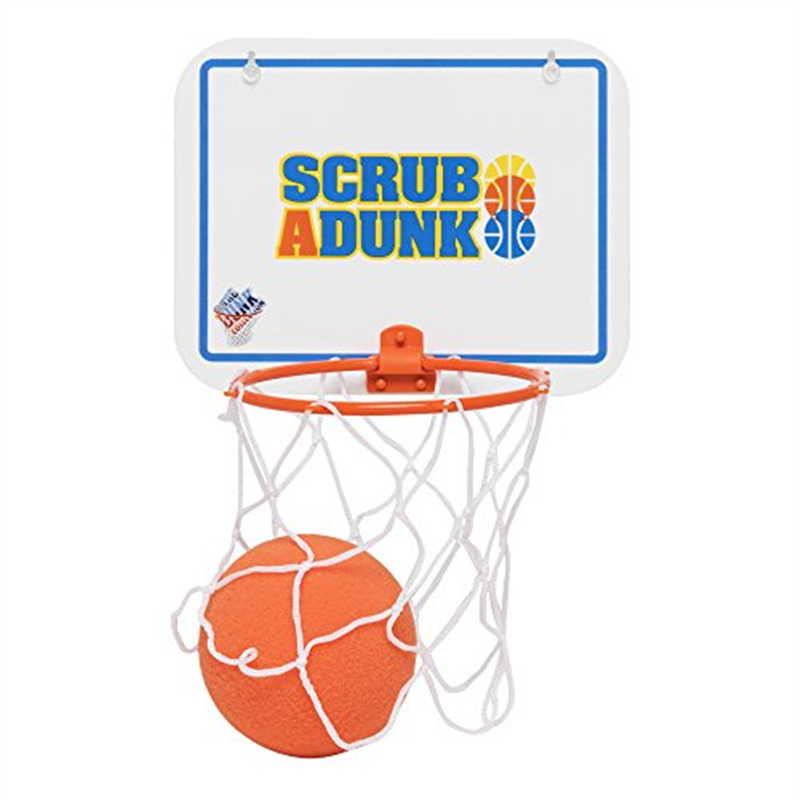 Scrub-a-Dunk - The Bathtub Basketball Hoop For Baby Ballers