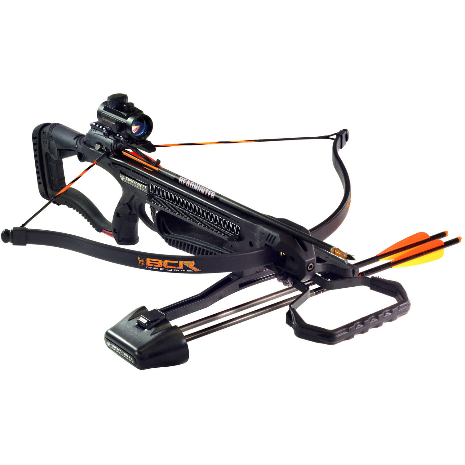 Barnett BCR Recurve Crossbow w 3 Headhunter Arrows & Quiver by Barnett Crossbows