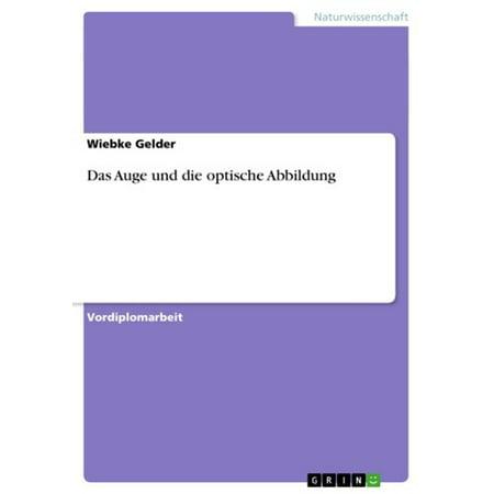 Das Auge und die optische Abbildung - eBook (Mod-stil Optische)