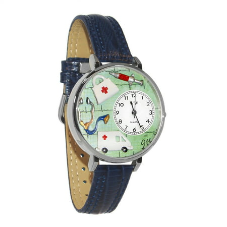 EMT Watch in Silver (Large)