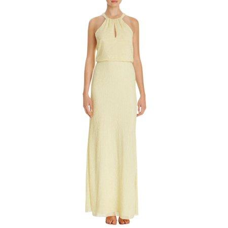 85c35dad62e8 Parker - Parker Womens Halter Sleeveless Semi-Formal Dress - Walmart.com