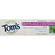 Toothpaste: Tom's of Maine Antiplaque & Whitening