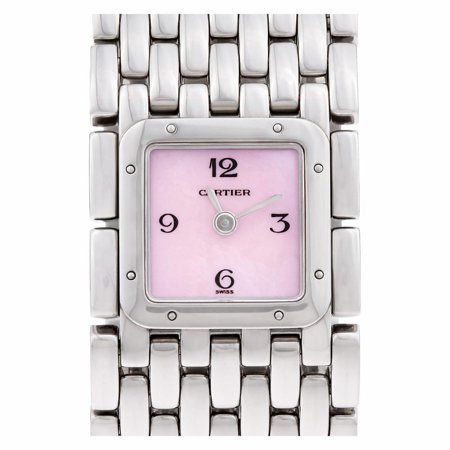 Pre-Owned Cartier Panthere De Cartier 2420 Steel Women Watch (Certified Authentic & Warranty)