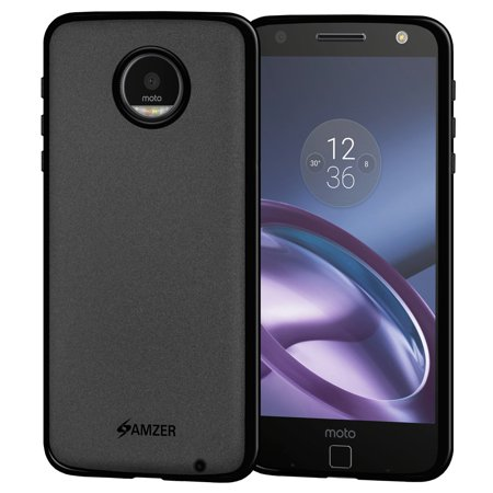 Motorola Moto Z DROID Edition Case, Premium ShockProof TPU Case Back Cover with Screen Cleaning Kit for Motorola Moto Z DROID Edition -