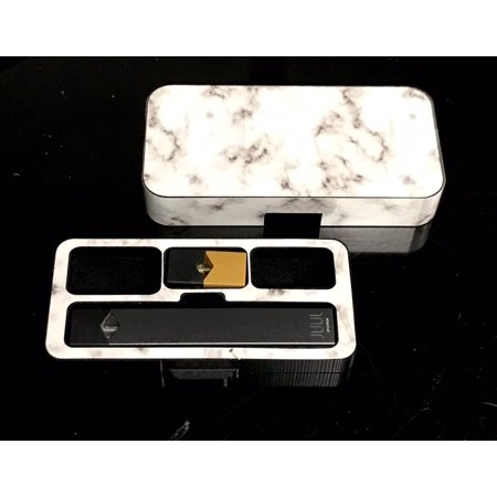 JUUL travel case Marble S200 design by Jwraps