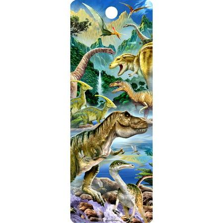 Dinosaur Valley 3D Bookmark](3d Bookmark)