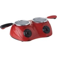 Total Chef CM20 Deluxe Chocolatiere Dual Chocolate Fondue and Melting Pot