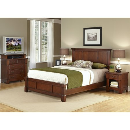 Home Styles Aspen Low Profile Bed ()