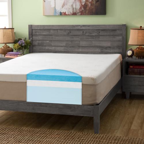 Slumber Solutions Choose Your Comfort 14 Inch Queen Size Gel Memory