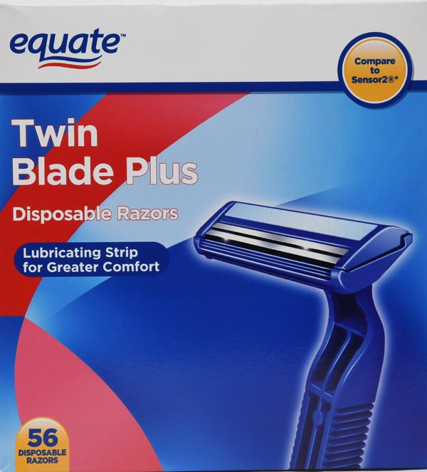 Equate Eq Men's Tb 52ct Disposable