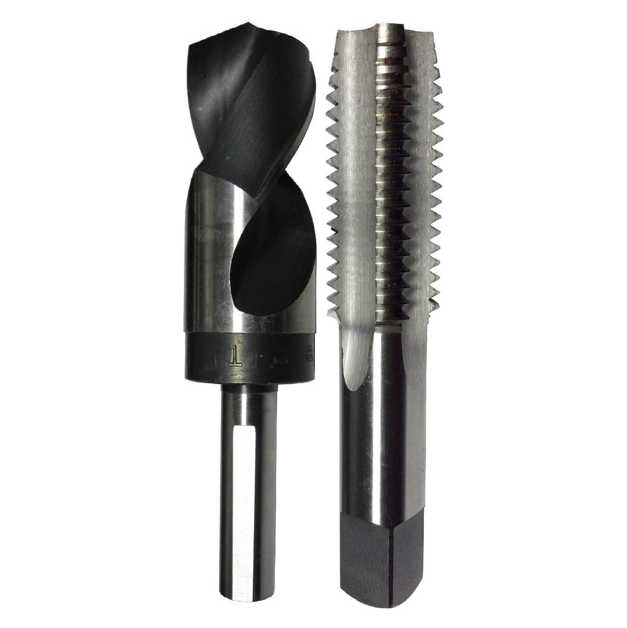 Pack of 1 Drill America m22 x 1.25 High Speed Steel Plug Tap,
