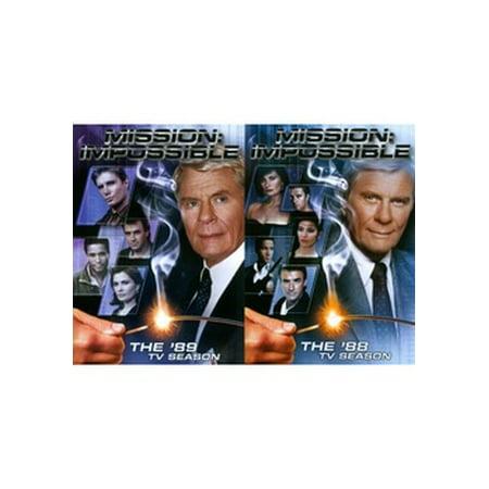 MISSION IMPOSSIBLE-88 & 89 TV SEASONS 2PK (DVD/9DISCS)