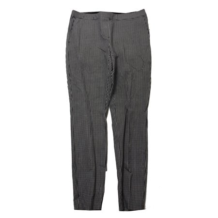Alfani Petite Black White Printed Skinny Pants  10P (Petites Printed)