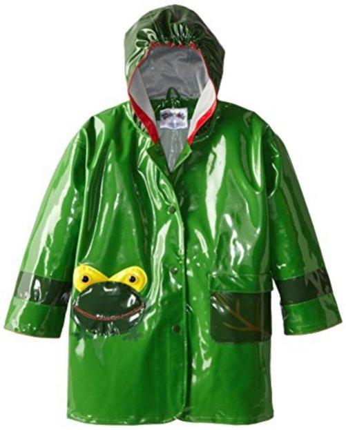 Kidorable Little Boys Frog All Weather Waterproof Coat