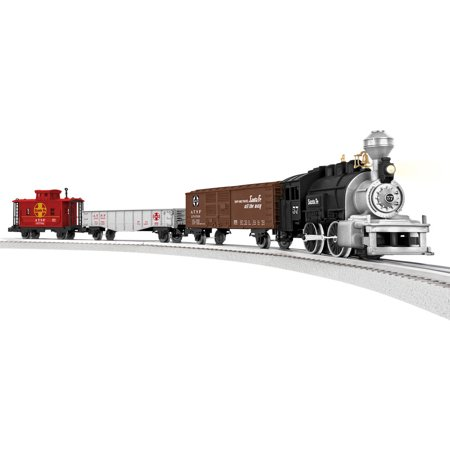 Lionel Junction Santa Fe Steam Train Set