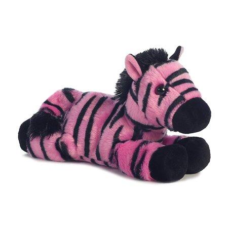 Little Stuffed Animals (Little Fantasy the Stuffed Pink Zebra Mini Flopsie by, Measures 8 tall By)