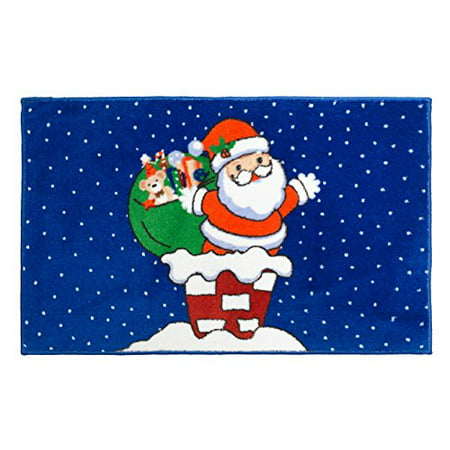 (Merry Christmas Bathroom Wish Collection Holiday Fabric Shower Curtain (70