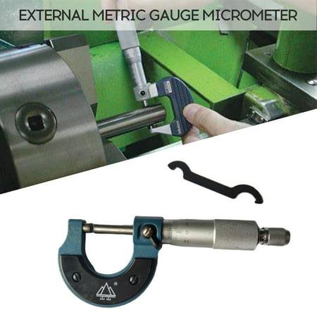 0-25mm Professional Outside External Metric Gauge Micrometer Machinist Measuring - image 7 of 7