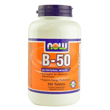 NOW Foods Vegetarian B-50 Nervous System Health, 250