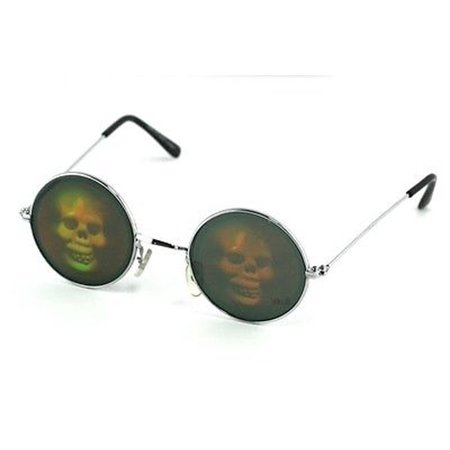 Pirate Skull Hologram Sunglasses Halloween Glasses Skeleton Costume Party - Jump Plymouth Halloween Party