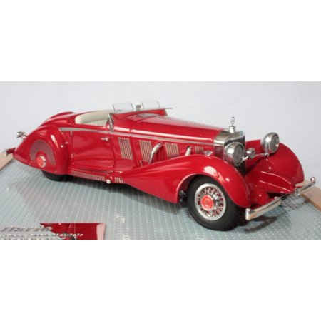 1936 Mercedes Benz 540k Mayfair Roadster Resin Model Car In 1 43 Scale By Ilario