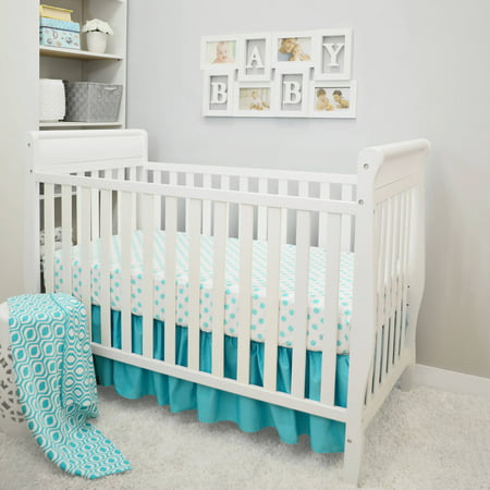 American Baby Company 3-Piece Crib Bedding (Baby Cribs Set)