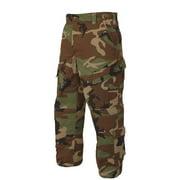Tactical Response Pants, NYCO Rip, Woodland, Medium, Regular