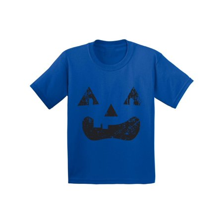 Awkward Styles Trick or Treat Face Tshirt for Kids Halloween Shirt Pumpkin Face Kids Shirt Trick or Treat Outfit Halloween Party T Shirt Day of the Dead Youth Shirt Dia de los Muertos Gifts for Kids