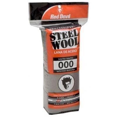 Extra Fine Wool 2 Button (Red Devil Steel Wool Extra Fine #000, 2)