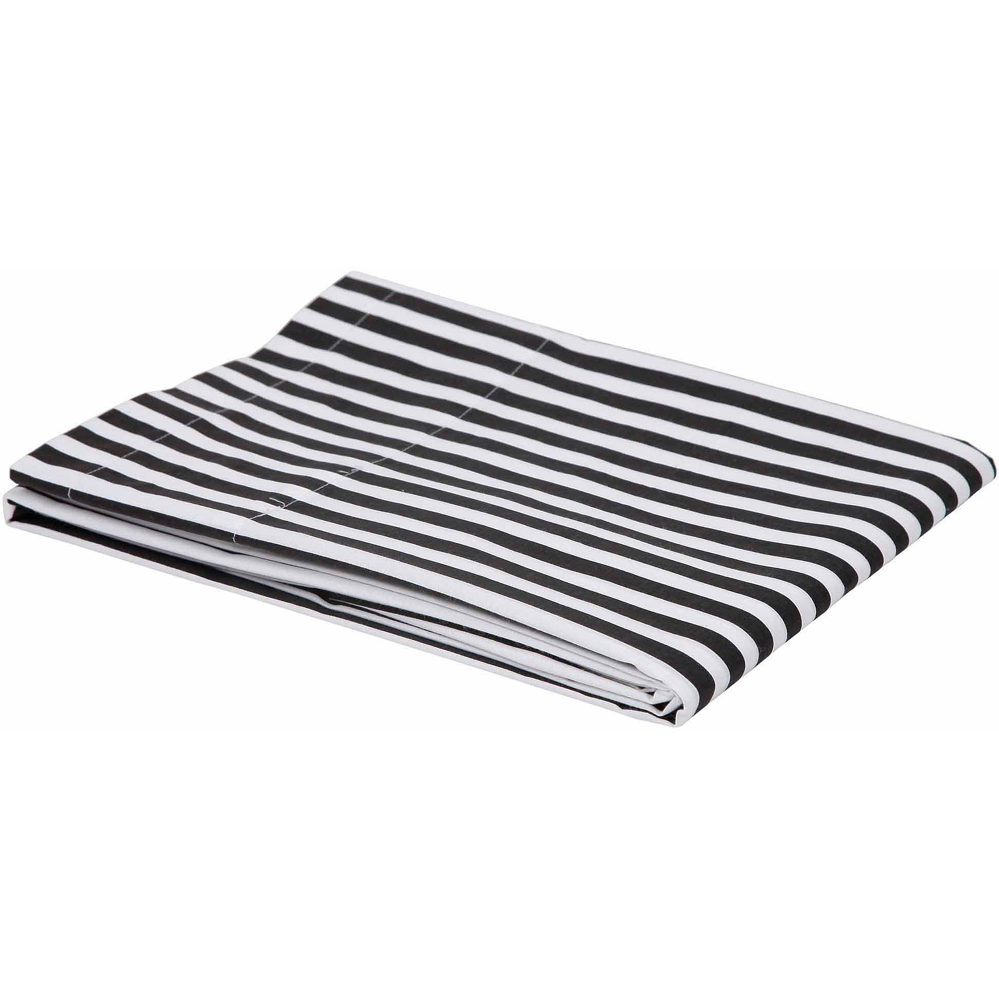 Bacati Pin Stripes Fitted Crib Sheet, Available in Multiple Colors