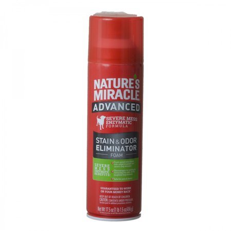 Nature's Miracle® Advanced Stain & Odor Eliminator Foam Dog 17.5