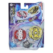 Beyblade Burst Surge Dual Collection Master Kerbeus K5 and Leopard L4, Ages 8 and Up
