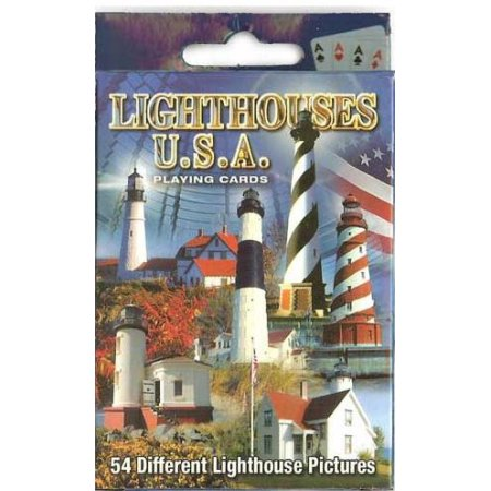 Palmetto Lighthouses Playing Card