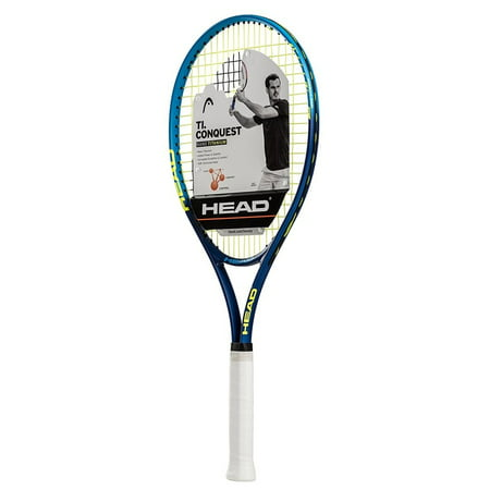 HEAD Ti.Conquest Tennis Racquet (4-1/4), Strung (Best Strung Lacrosse Heads)