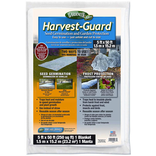 Dalen Products Harvest-Guard Floating Garden Cover, 5' x 50'