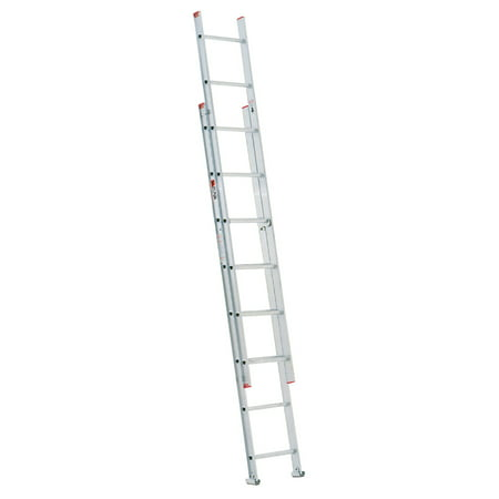 - Werner D716-2 16' Type III Aluminum D-Rung Extension Ladder