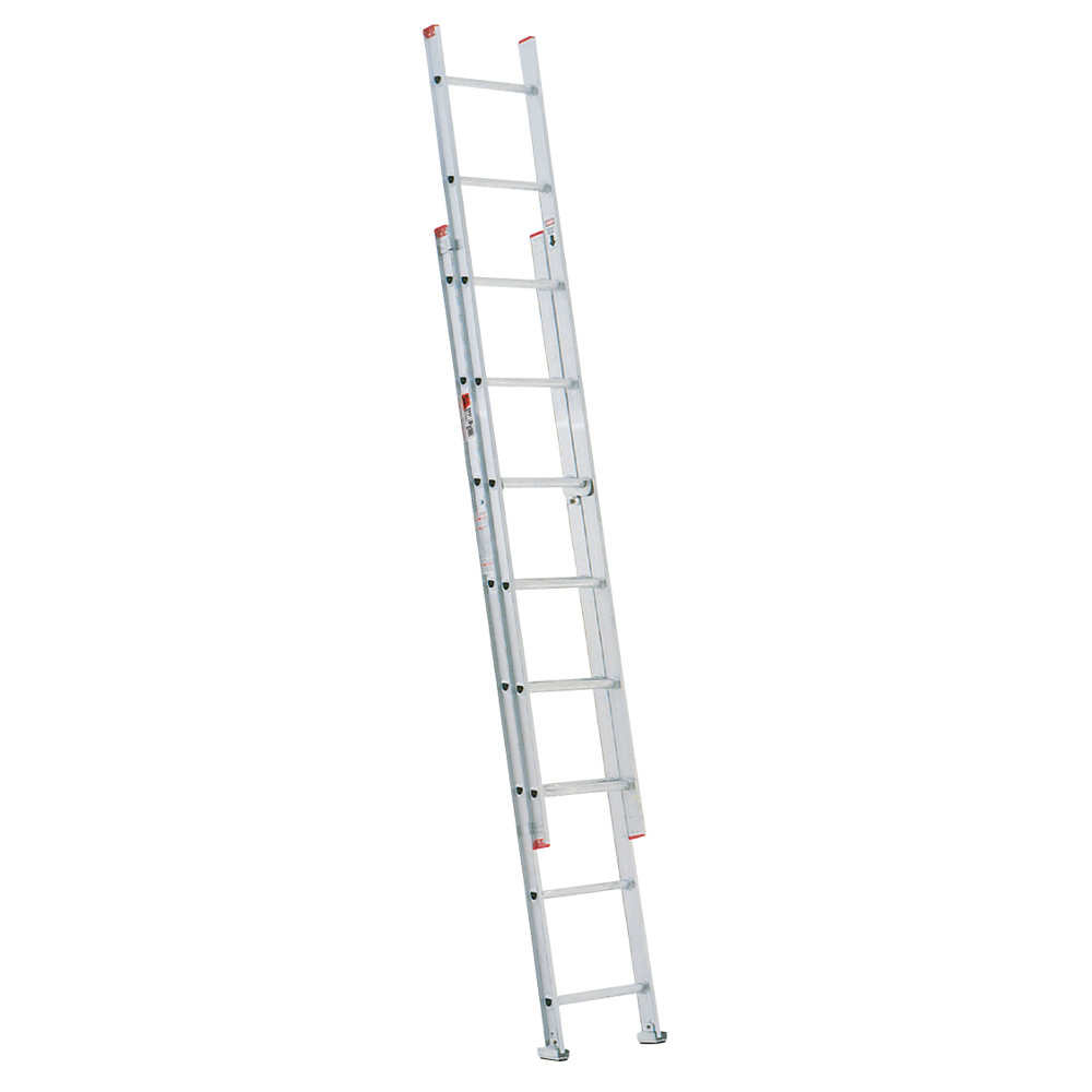 werner d7162 16u0027 type iii aluminum drung extension ladder - Werner Ladder
