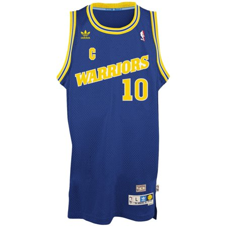 Tim Hardaway Golden State Warriors Adidas NBA Throwback Swingman Jersey Blue by