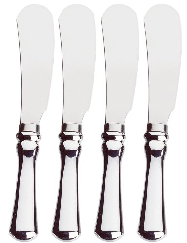 Amco Classic Spreaders, Stainless Steel Blades, Set of 4 by Amco