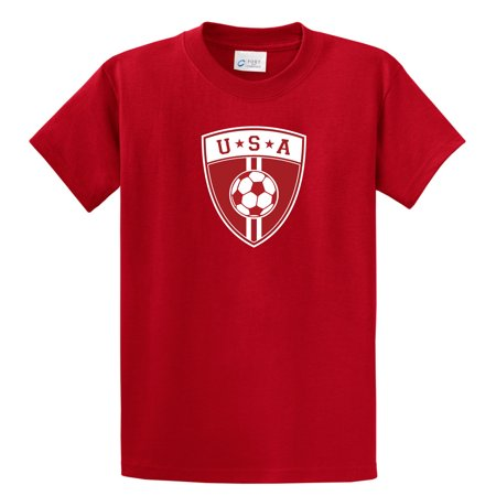 USA Soccer T shirt (short sleeve) by Code Four -