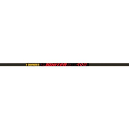 - Gold Tip Hunter Arrow Shafts, Pack of 12, Black, 400