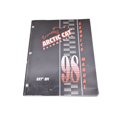 Car Service Manual - Arctic Cat 2255-720 98 EXT EFI Service Manual QTY 1