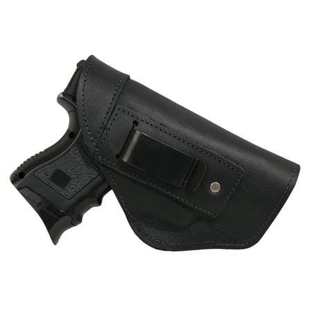 Barsony Right Black Leather IWB Holster Size 16 Beretta Glock HK S&W Springfield Compact 9 40