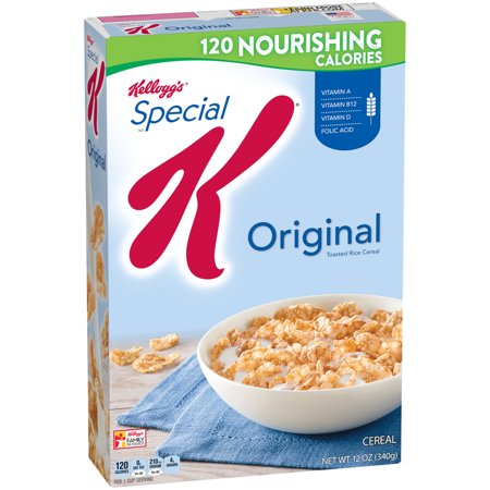 Kellogg's Special K Original Toasted Rice Breakfast Cereal 12 oz. Box