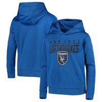 San Jose Earthquakes Youth Pacesetter Pullover Hoodie - Blue