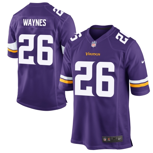 Trae Waynes Minnesota Vikings Nike 2015 Game Jersey - Purple