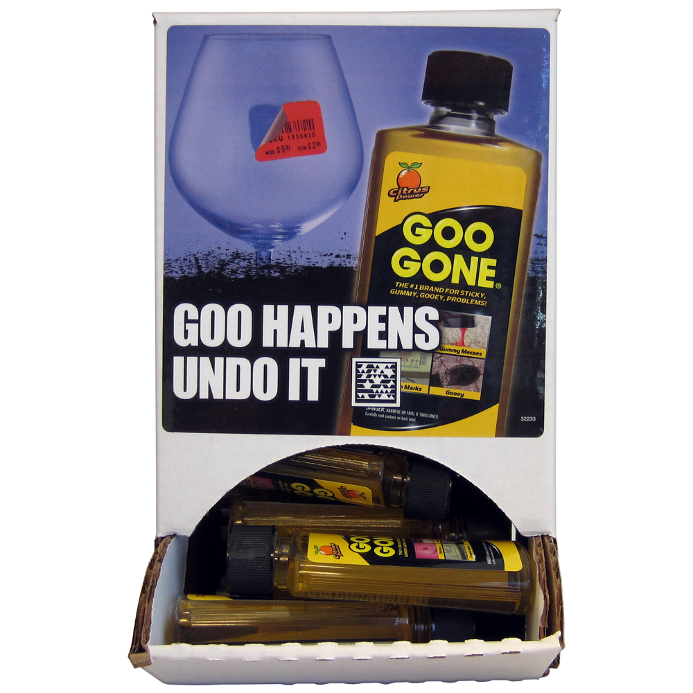 Goo Gone - 2oz Bottle - Citrus Scented - Cuts Grease, Oil, Gum, Adhesive Residue
